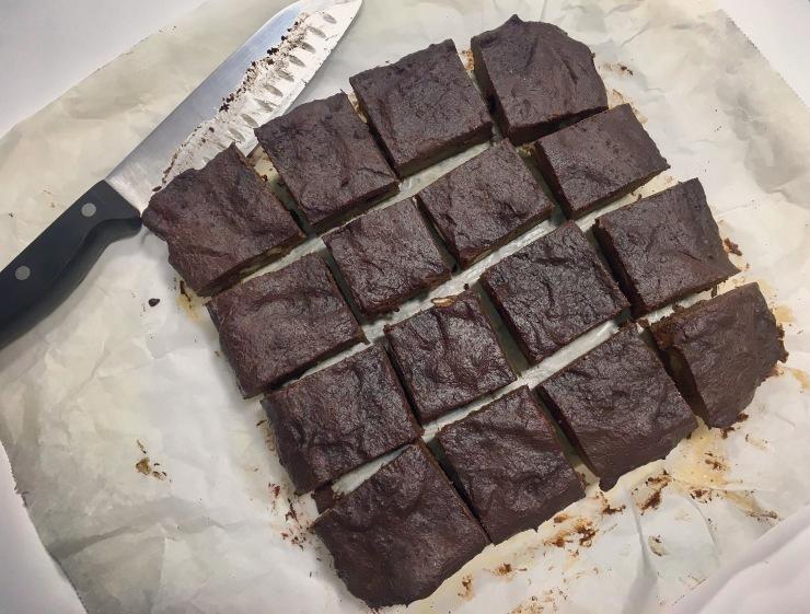 Brownie con extra de chocolate