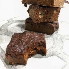 Brownie de boniato