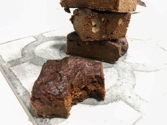 Brownie de boniato