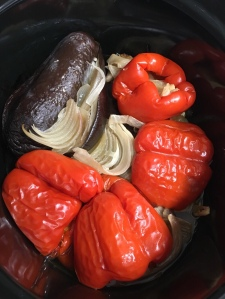 Verduras cocinadas en crockpot