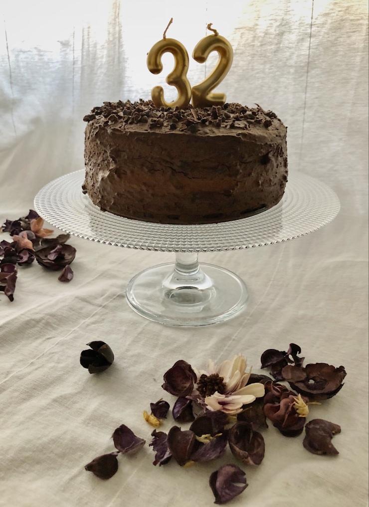tarta de chocolate paleo