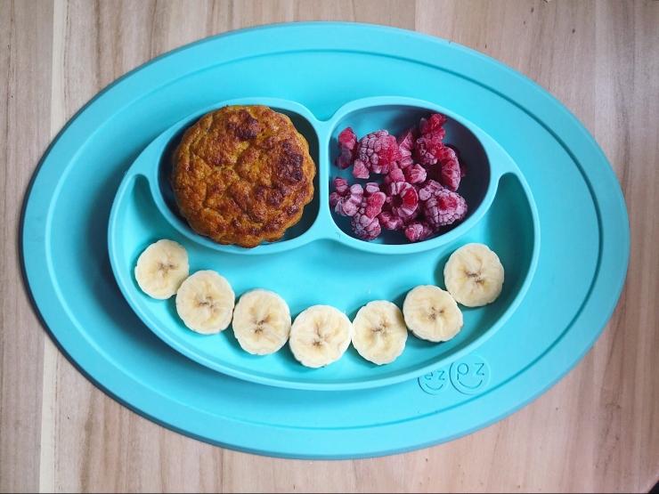 muffin con frutas