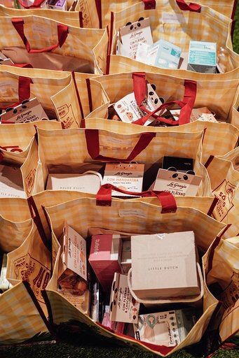 bolsa regalos patrocinadores