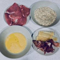Preparación de ingredientes