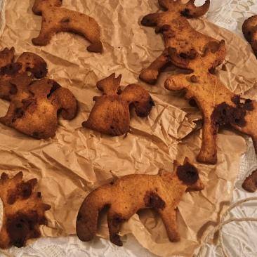 galletas navideñas sin gluten