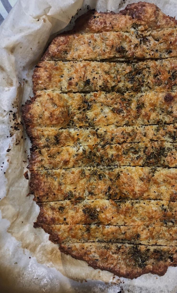 pan de queso y ajo