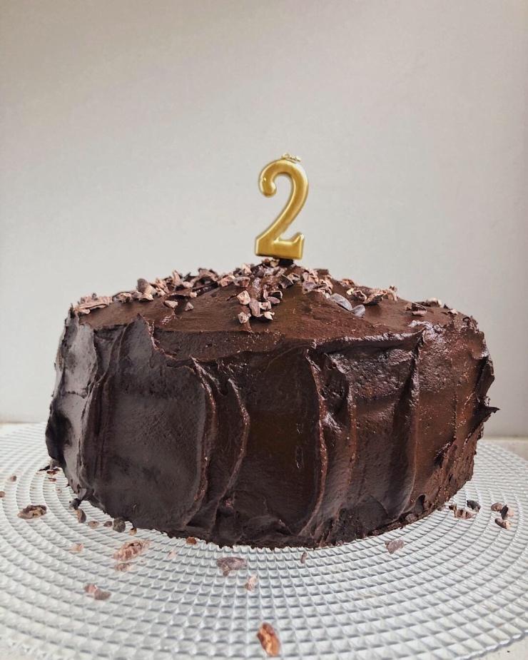 tarta paleo de chocolate y aguacate