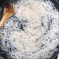 Konjac, la pasta sin carbohidratos, con salsa boloñesa