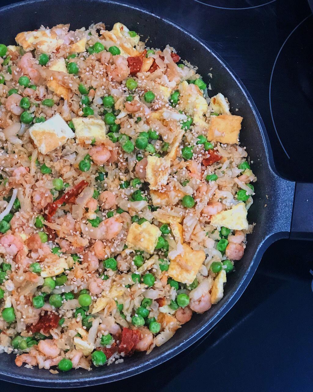 arroz coliflor tres delicias
