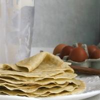 Crepes paleo de yuca, sin gluten