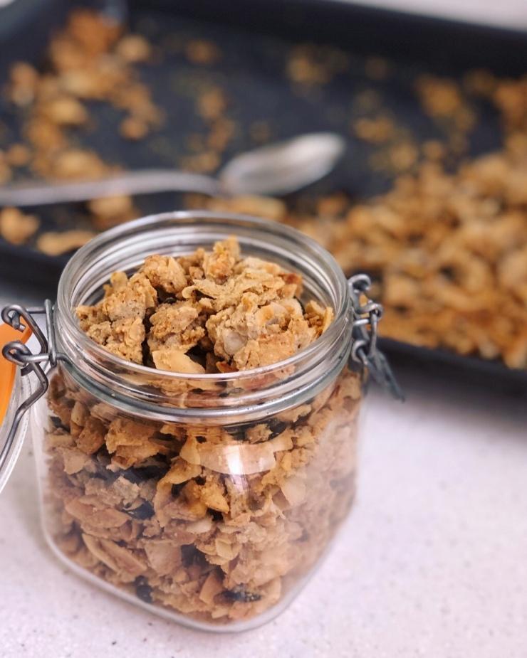 Paleo granola casera