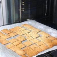 Crackers de almendra, sin gluten