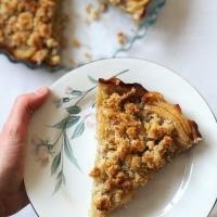 Tarta paleo de manzana